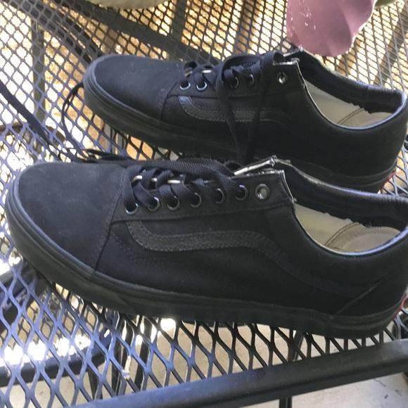 Vans Shoes | Vans Old Skool All Black